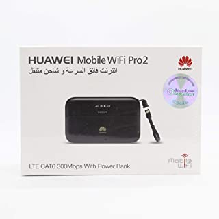 HUAWEI MOBILE WIFI PRO2,POTABLE,LTE CAT6 300MBPS WITH POWER BANK,6400MAH,DUAL BAND SUPPORT 32 WIFI USERS