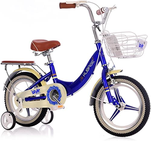 mejor vendido Fenfen Bicicleta para Niños Bicicleta para Niños Bicicleta para Niños Niños Niños 12 Pulgadas Bicicleta para Todo el año 2-4, rojo azul (Color   azul)  precios bajos