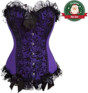 f03e91f99a Women Bustiers Corsets Multi-Style Overbust Waist Cinching Plus Costume Tops