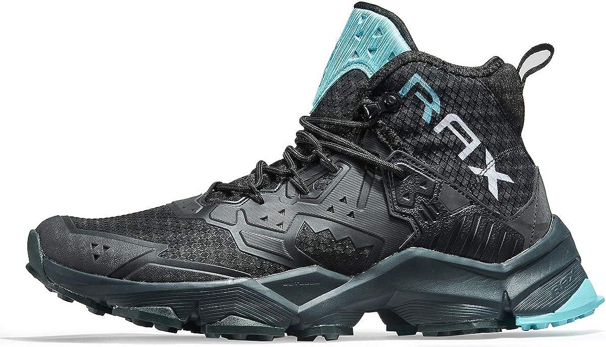 正規品スーパーSALE×店内全品キャンペーン RAX Men's Cushioning Hiking Boots Back Outdoor 宅送 Shoes Lightweight