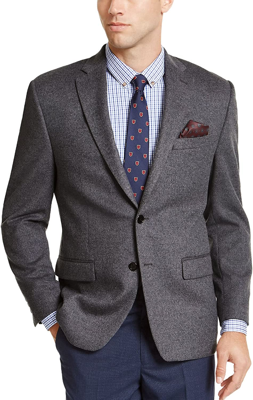 Lauren by Ralph Lauren Mens Suit Seperates R Blazer Gray 46
