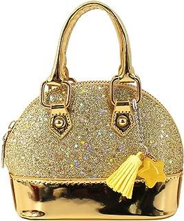 Aisa Girls Mini Dome Satchel Purse Cute Coin Purse Chain Crossbody Tote Handbag