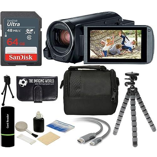 HF10 HG20 Flash Memory Camcorders HF100 Pro Digital Hard Lens Hood for The Canon VIXIA HF200 HG21 HF20 HF11