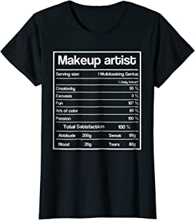 Womens 2018 Cosmetology Graduation Gift Shirt Makeup Artists, Hair