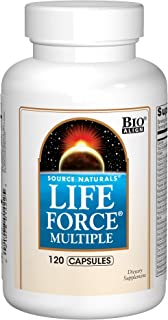Source Natural Life Force Multiple - Energy Activator - 120 Capsules