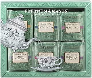 Fortnum & Mason British Tea, Fortnum's Famous Tea Bag Selection, 60 Count Tea bags (1 Pack) NEW EDITION - USA Stock