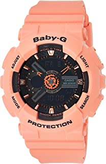 Casio Baby-G Women's Ana-Digi Dial Resin Band Watch