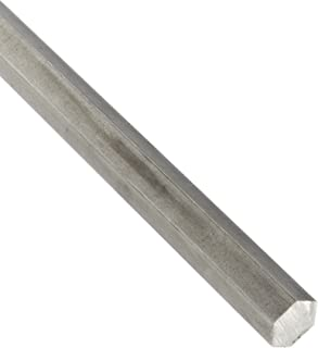Mill Finish 304 Stainless Steel Rectangular Bar ASTM A276 Annealed Temper 1//4 Thickness Unpolished 24 Length 1//2 Width Annealed