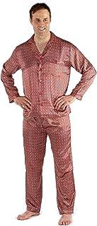 Harvey James Men's Satin Pyjama OR Dressing Gown Nightdress Silky Satin Long Satin Pajamas