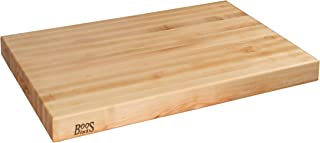 John Boos Block RA06 Maple Wood Edge Grain Reversible Cutting Board, 30 Inches x 23 Inches x 2.25 Inches
