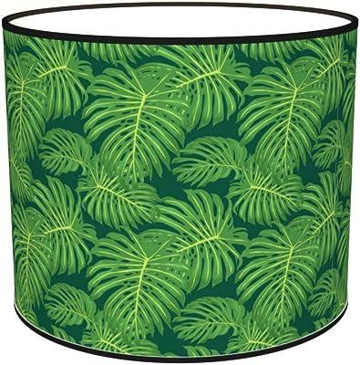Abat-jours 7111308255146 Imprimé Palmio Lampe de Chevet, Tissus/PVC, Multicolore