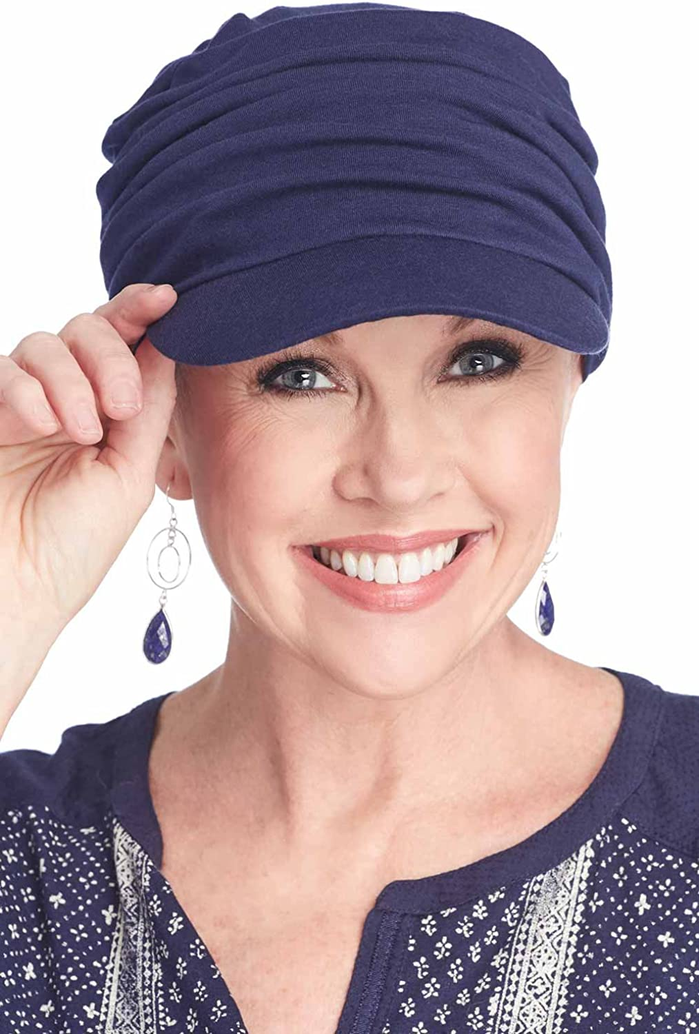 Headcovers Unlimited Tenley Baseball Cap-Caps for Women with Chemo Cancer Hair Loss