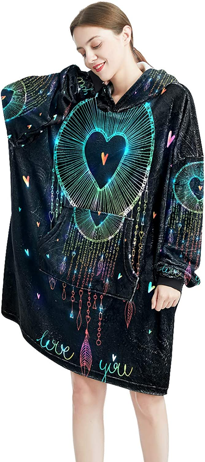 Cozy Oversized Maternity Hoodie Dream Blanket Year-end annual account Catcher Award-winning store Sparkling