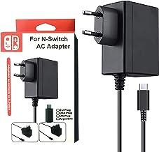 KafooStore Chargeur pour Nintendo Switch / Switch Lite - Adaptateur Secteur 15V/2.6A pour Nintendo Switch et Switch Lite -...