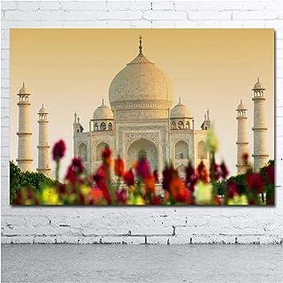 Ignite Wander Peintures d'art Mural bâtiment Ancien Taj Mahal Affiches et Impressions sur Toile Art pour la décoration int...