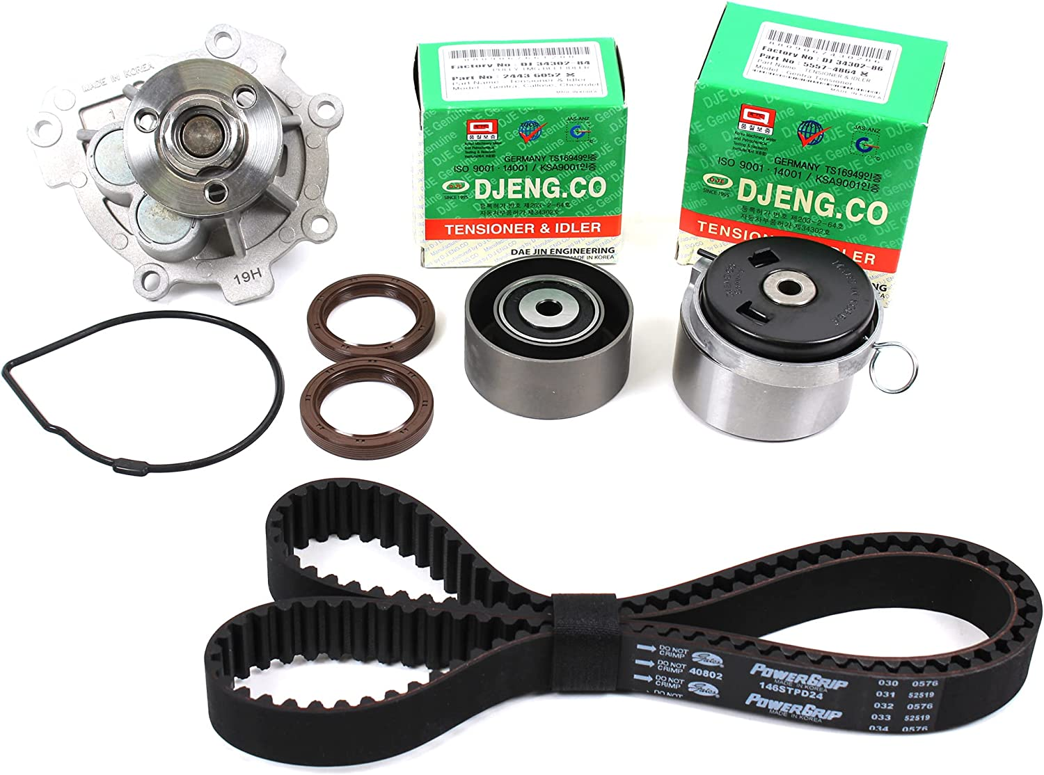 CNS Compatible with TIMING At the price BELT CHEVROLET Free shipping New WATER KIT PUMP 09-14