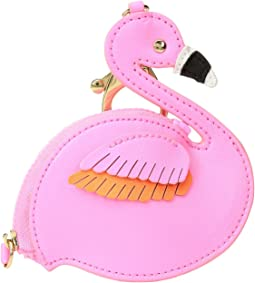 Flamingo Coin Case