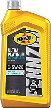 Pennzoil Ultra Platinum Full Synthetic 5W-20 Motor Oil (1-Quart, Single Pack)