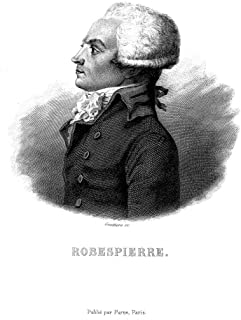 Maximilien Robespierre N(1758-1794) French Revolutionist Steel Engraving French 19Th Century Poster Print by (18 x 24)