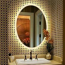 GRJ Household Items& espelho sem moldura compatível com espelhos de maquiagem de cozinha, instalação oculta elegante decor...