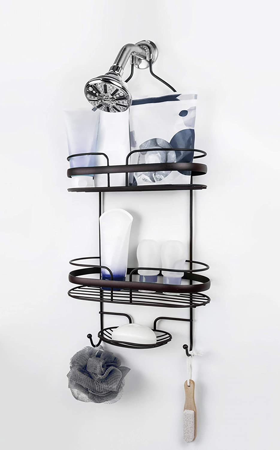 Brookstone BKH1309 Shower Caddy 10 Bronze Limited time for free shipping At the price Style