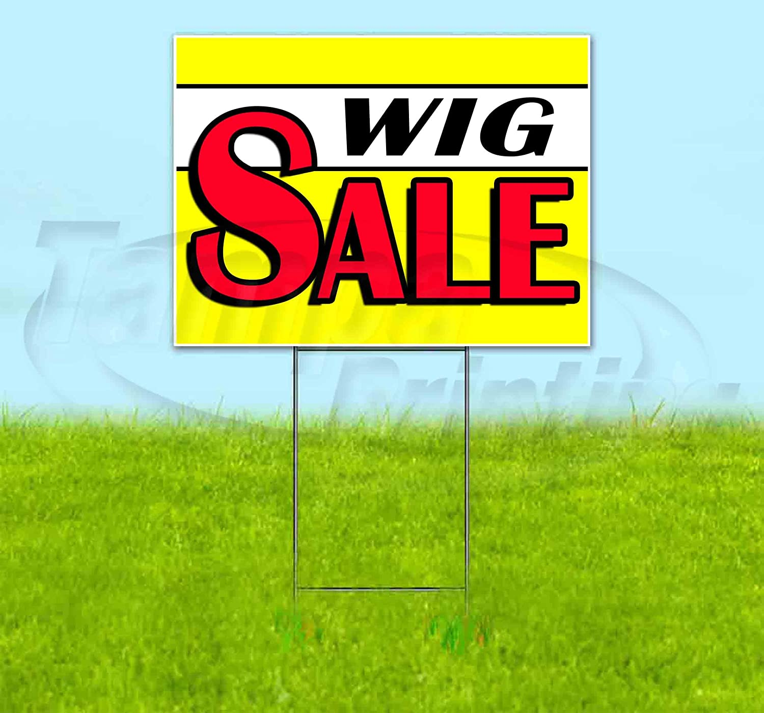 Wig Tulsa Mall Sale Opening large release sale Yellow 18