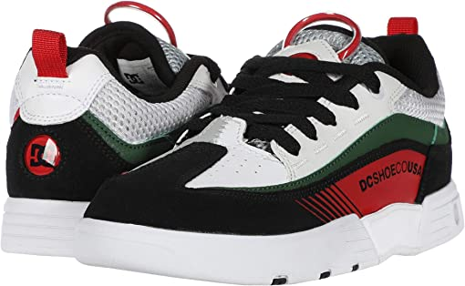 White/Black/Green