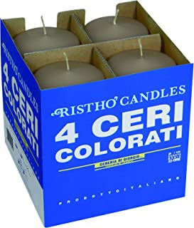 Risthò 56203_77 Candles, Wax, Taupe, One Size