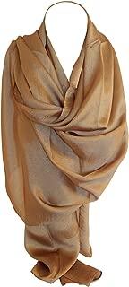 Bullahshah Schöne Plain Thai Silk Mischen Wrap Schal Stola Schal Hijab Kopf Schals in Bright Coloures