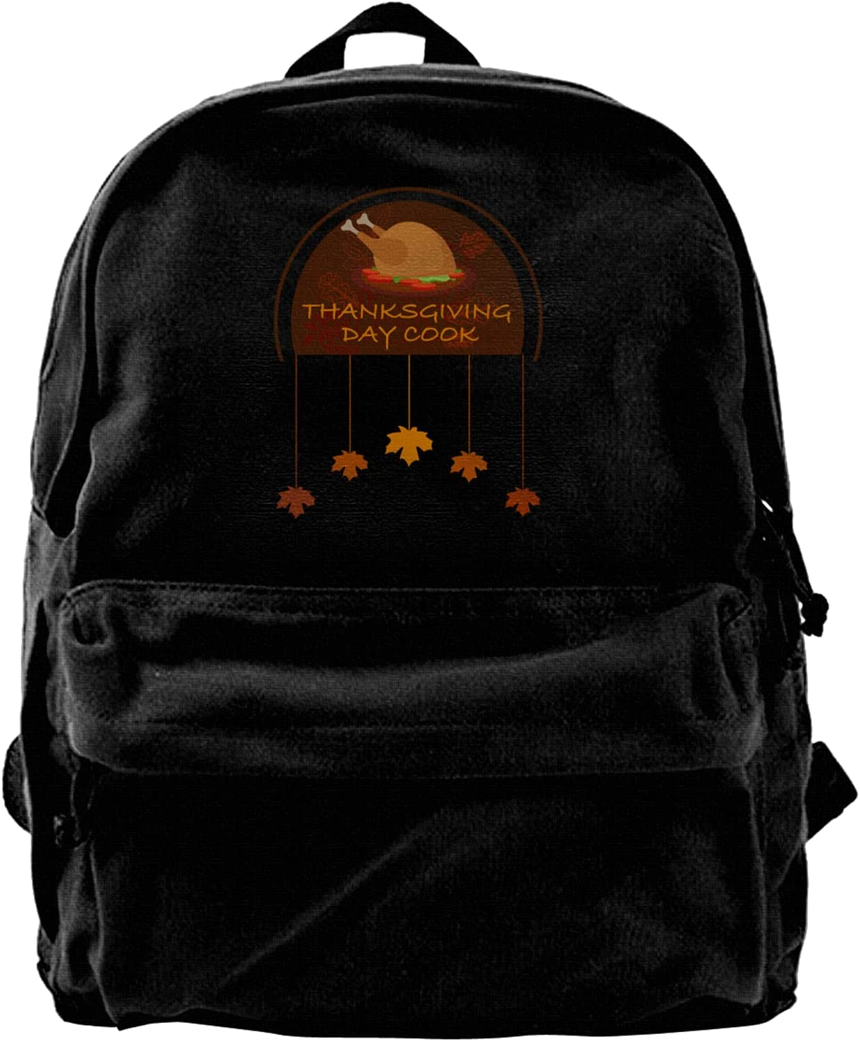 Thanks Giving Industry No. 1 Day Cook Recommended Canvas High-Capacit Bags Backpacks Laptop