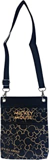 Mickey Mouse Cross Body Shoulder Bag (Gold)