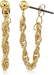 Front to Back Chain Earrings