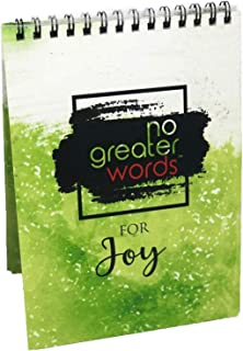 No Greater Words for Joy Scripture Cards, Bible Verses, Memory Cards, Prayer Cards, Encouragement, Flash Cards, Gifts