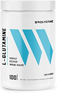 L-Glutamine | Reduces Exercise Induced Muscle Soreness, Reduces Muscle Mass Breakdown, Enhances Gut Health, Supports Immun...