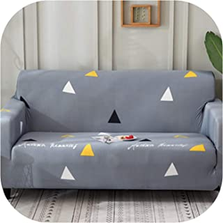 Slipcovers Sofa Flower Pattern Cove Tight wrap All-Inclusive Slip-Resistant sectional Elastic Full Sofa One/Two/Three/Four seat,22,Three seat Sofa