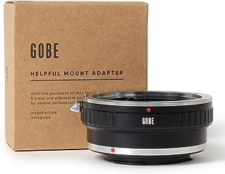Gobe - Adaptador de Lente Compatible para Lentes Canon EOS (EF/EF-S) y cuerpos de cámara Canon EOS M (EF-M)