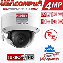Hikvision 4mp Dome Camera DS-2CD2143G0-I 2.8mm International Version Upgradeable Firmware