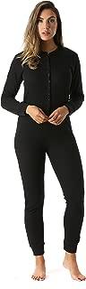 Women's Thermal Henley Onesie Union Suit