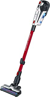Black+Decker 21.6V 2Ah Li-Ion 500ml 3-in-1 Cordless Stick Vacuum with Jack Plug Charger , Red - BHFE620J-GB, 2 Years Warranty