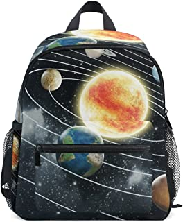 Kinder Sistema Solar Mini Mochila Kids Pre-School Bolsa Niño Multicolor