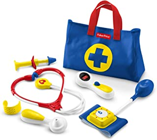 Fisher Price Medical Kit azul, amarillo y rojo