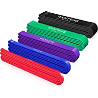 WENFENG Pull Up Workout/Exercise Bands