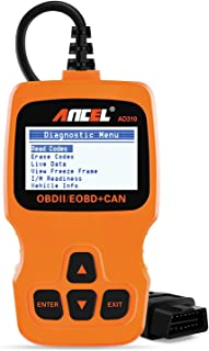 ANCEL AD310 Classic Enhanced Universal OBD II Scanner Car Engine Fault Code Reader CAN Diagnostic Scan Tool - Orange