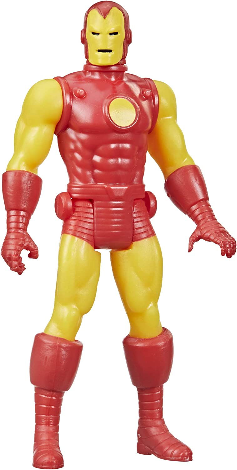 Hasbro OFFicial site Marvel Legends 3.75-inch Bargain Scale Iron Retro Collection 375