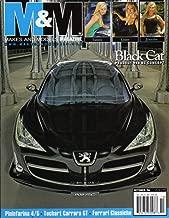 M&M Makes and Models October 2006 Magazine BLACK CAT PEUGEOT 908 RC CONCEPT Pininfarina 4/5 TECHART CARRERA GT Ferrari Classiche TESLA ROADSTER: MINIMALISTIC DESIGN APPROACH