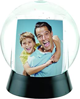 Neil Enterprises, Inc Photo Snow Globe with Black Base