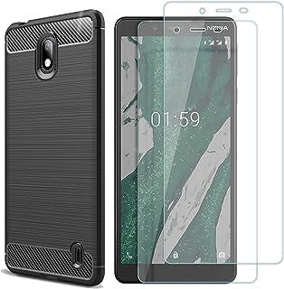 a02f8386be9 MYLBOO Funda Nokia 1 Plus con Protector de Pantalla,[3 en 1] Funda