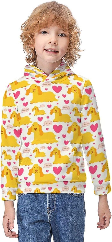ODOKAY Boys Girls Casual Printed Hoodie and Sweatshirts Long Sleeve Sweater for Unisex