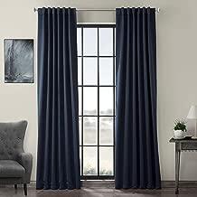 HPD HALF PRICE DRAPES BOCH-193810-120 Blackout Room Darkening Curtain, 50 X 120, Eclipse