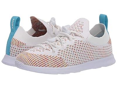 Native Kids Shoes AP Mercury Liteknit (Little Kid/Big Kid) (Shell White/Rainbow Melange/Shell White) Kid
